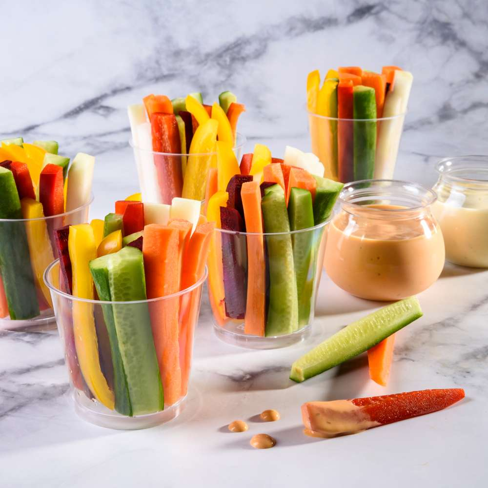 פלטות ירקות חתוכים – טרנד השנה באירועים