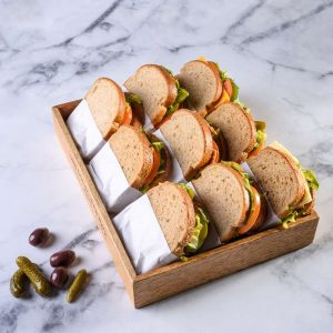 כריך לחם מחמצת