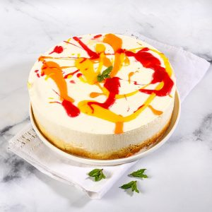 עוגת גבינה אביבית לשבועות