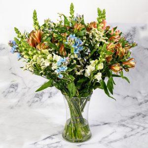 זר פרחים חגיגי ענק