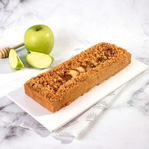 עוגת תפוחים מקורמלים